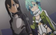 Sword Art Online Kirito And Sinon  36 Anime Background