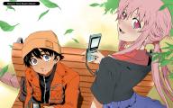 Anime Mirai Nikki 24 Background Wallpaper