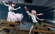 Anime Mirai Nikki 6 Background Wallpaper