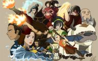 Avatar The Last Airbender Characters 45 Background Wallpaper