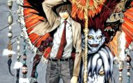 Death Note Light 26 Background Wallpaper