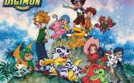 Digimon Anime 2 Widescreen Wallpaper