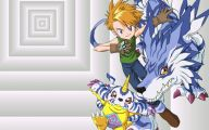Digimon Anime 23 Background Wallpaper