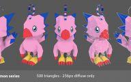 Digimon Biyomon 15 Background Wallpaper