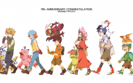 Digimon Biyomon 16 Widescreen Wallpaper