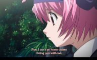 Elfen Lied Character 8 Widescreen Wallpaper