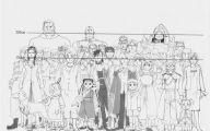 Full Metal Alchemist Characters 8 Widescreen Wallpaper