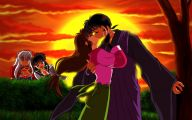 Inuyasha And Miroku 15 Anime Background