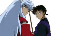 Inuyasha And Miroku 7 Anime Background