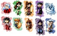 Inuyasha Characters 19 Wide Wallpaper