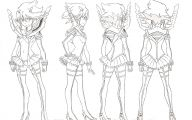 Kill La Kill Characters 33 Cool Hd Wallpaper