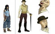Legend Of Korra Characters 17 Widescreen Wallpaper