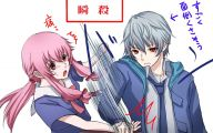 Mirai Nikki Characters 14 Hd Wallpaper