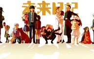 Mirai Nikki Characters 18 Desktop Background