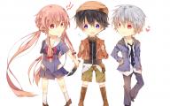 Mirai Nikki Characters 9 Free Hd Wallpaper