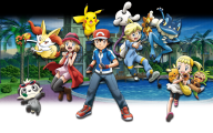 Pokemon X And Y  9 Background Wallpaper