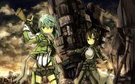 Sword Art Online Gun Gale  5 Desktop Background