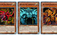 Yu Gi Oh Egyptian God Cards  11 Widescreen Wallpaper