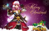 Anime Christmas Girls  1 Widescreen Wallpaper