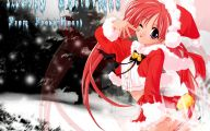 Anime Christmas Girls  10 Anime Background