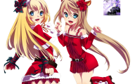 Anime Christmas Girls  12 Cool Hd Wallpaper