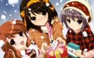 Anime Christmas Girls  25 Free Wallpaper