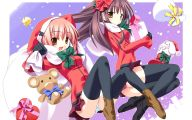 Anime Girls Christmas  9 Anime Background