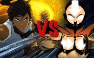 Avatar Aang Vs Avatar Korra  18 Desktop Wallpaper