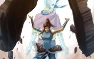 Avatar Aang Vs Avatar Korra  20 Background Wallpaper