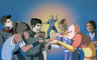 Avatar Aang Vs Avatar Korra  7 Desktop Background