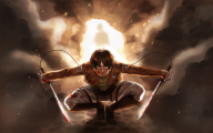 Attack On Titan Eren 22 Cool Wallpaper
