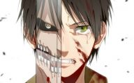 Attack On Titan Eren 27 Background Wallpaper