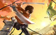 Attack On Titan Eren 30 Background Wallpaper