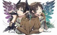 Shingeki No Kyojin Eren Jaeger 6 Background Wallpaper