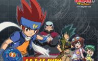 Beyblade Adventure 4 Wide Wallpaper