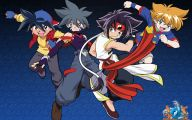 Beyblade Original 5 Desktop Background