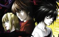Death Note Anime Series 36 Background Wallpaper