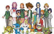 Digimon Anime Tv Series 9 Desktop Background