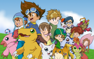 Digimon Photo 9 Background Wallpaper