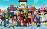 Dragon Ball Z Anime Series 28 Free Wallpaper