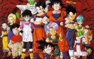 Dragon Ball Z Anime Series 3 Background Wallpaper