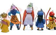 Dragon Ball Z Figures 14 High Resolution Wallpaper