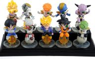 Dragon Ball Z Figures 5 Background Wallpaper