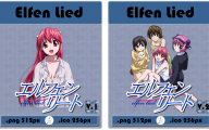 Elfen Lied Series Free 1 Background Wallpaper