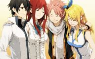 Fairy Tail Characters 2 Background Wallpaper