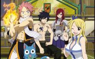 Fairy Tail Characters 25 Desktop Background