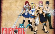 Fairy Tail Characters 5 Free Hd Wallpaper