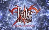 Fate/stay Anime 33 Anime Background