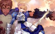 Fate/stay Saber 30 Wide Wallpaper