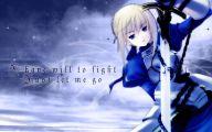 Fate/stay Saber 4 Desktop Background